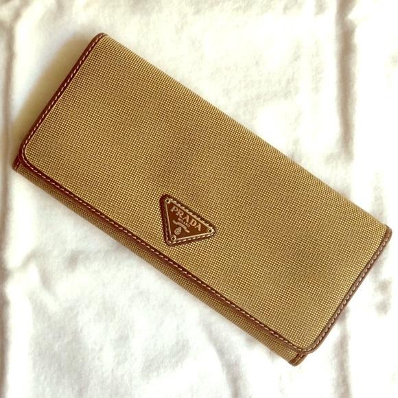 facb36394fc Prada KP5046 Jacquard wallet. M 5a80de8131a376ac82aabb6d